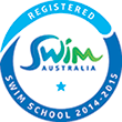 Swim Australia Registered Swim School logo
